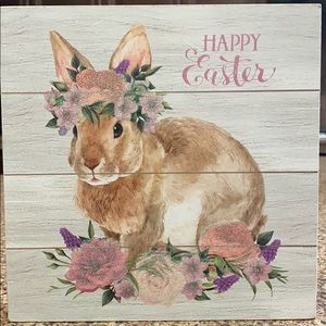 Happy Easter Box Wall Art